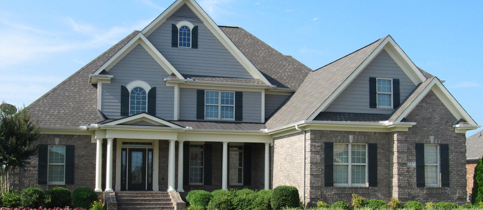 Bluestone custom home builder and custom home designs for North alabama home builders